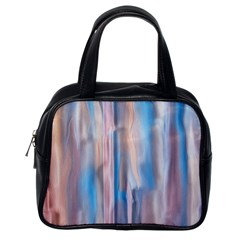 Vertical Abstract Contemporary Classic Handbags (One Side)
