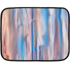 Vertical Abstract Contemporary Double Sided Fleece Blanket (Mini)