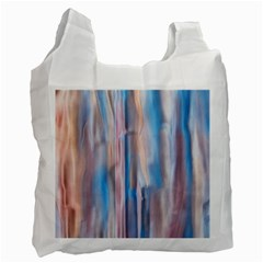 Vertical Abstract Contemporary Recycle Bag (Two Side)