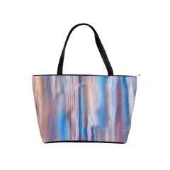 Vertical Abstract Contemporary Shoulder Handbags