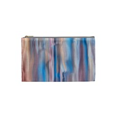 Vertical Abstract Contemporary Cosmetic Bag (Small)