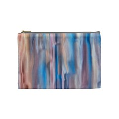 Vertical Abstract Contemporary Cosmetic Bag (Medium)