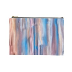 Vertical Abstract Contemporary Cosmetic Bag (Large)
