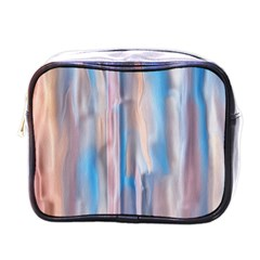 Vertical Abstract Contemporary Mini Toiletries Bags