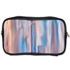 Vertical Abstract Contemporary Toiletries Bags