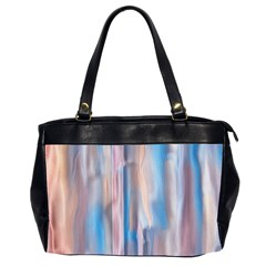 Vertical Abstract Contemporary Office Handbags (2 Sides)