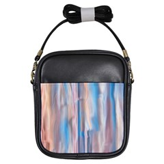 Vertical Abstract Contemporary Girls Sling Bags
