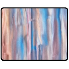 Vertical Abstract Contemporary Fleece Blanket (Medium)