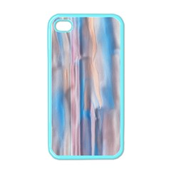 Vertical Abstract Contemporary Apple iPhone 4 Case (Color)