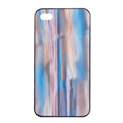 Vertical Abstract Contemporary Apple iPhone 4/4s Seamless Case (Black)