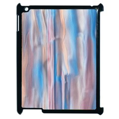 Vertical Abstract Contemporary Apple iPad 2 Case (Black)
