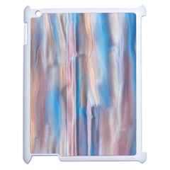 Vertical Abstract Contemporary Apple iPad 2 Case (White)