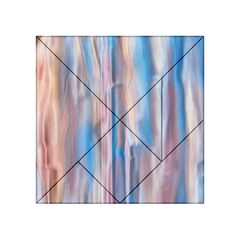 Vertical Abstract Contemporary Acrylic Tangram Puzzle (4  x 4 )