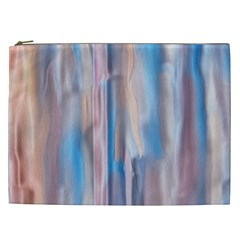 Vertical Abstract Contemporary Cosmetic Bag (XXL)