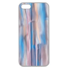 Vertical Abstract Contemporary Apple Seamless iPhone 5 Case (Clear)