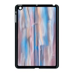 Vertical Abstract Contemporary Apple iPad Mini Case (Black)