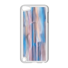 Vertical Abstract Contemporary Apple iPod Touch 5 Case (White)