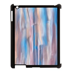 Vertical Abstract Contemporary Apple iPad 3/4 Case (Black)