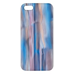Vertical Abstract Contemporary Apple iPhone 5 Premium Hardshell Case
