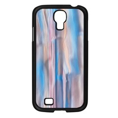 Vertical Abstract Contemporary Samsung Galaxy S4 I9500/ I9505 Case (Black)