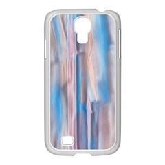 Vertical Abstract Contemporary Samsung GALAXY S4 I9500/ I9505 Case (White)