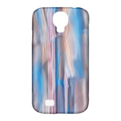 Vertical Abstract Contemporary Samsung Galaxy S4 Classic Hardshell Case (PC+Silicone)