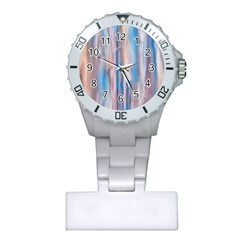 Vertical Abstract Contemporary Plastic Nurses Watch
