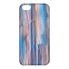 Vertical Abstract Contemporary Apple iPhone 5C Hardshell Case
