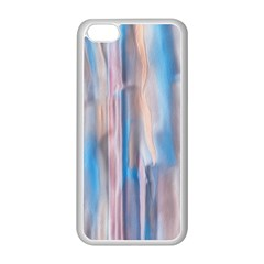 Vertical Abstract Contemporary Apple iPhone 5C Seamless Case (White)
