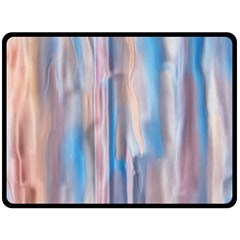 Vertical Abstract Contemporary Double Sided Fleece Blanket (Large)