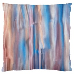Vertical Abstract Contemporary Large Flano Cushion Case (One Side)