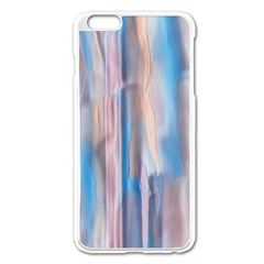 Vertical Abstract Contemporary Apple iPhone 6 Plus/6S Plus Enamel White Case