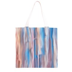Vertical Abstract Contemporary Grocery Light Tote Bag