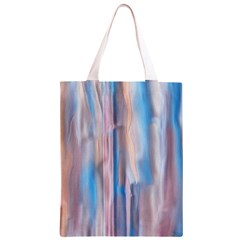 Vertical Abstract Contemporary Classic Light Tote Bag