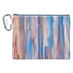 Vertical Abstract Contemporary Canvas Cosmetic Bag (XXL)