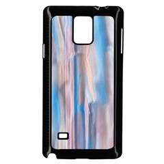 Vertical Abstract Contemporary Samsung Galaxy Note 4 Case (Black)