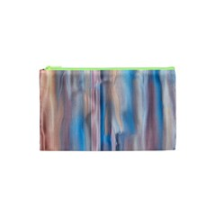 Vertical Abstract Contemporary Cosmetic Bag (XS)