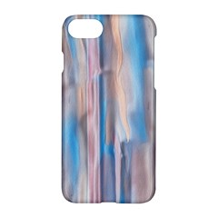 Vertical Abstract Contemporary Apple iPhone 7 Hardshell Case