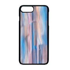 Vertical Abstract Contemporary Apple iPhone 7 Plus Seamless Case (Black)