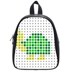 Colored Turtle School Bags (Small)