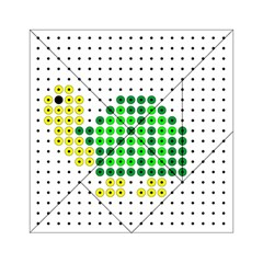 Colored Turtle Acrylic Tangram Puzzle (6  X 6 )