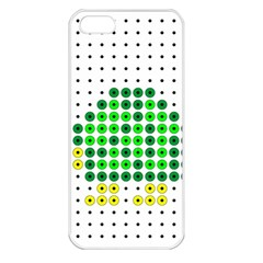 Colored Turtle Apple iPhone 5 Seamless Case (White)