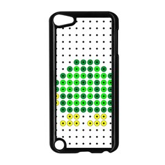 Colored Turtle Apple Ipod Touch 5 Case (black)