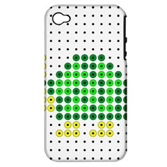 Colored Turtle Apple iPhone 4/4S Hardshell Case (PC+Silicone)