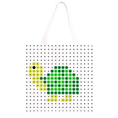 Colored Turtle Grocery Light Tote Bag