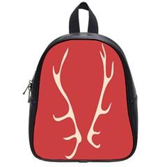 Deer Antlers School Bags (Small)