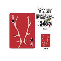 Deer Antlers Playing Cards 54 (Mini)