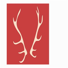 Deer Antlers Small Garden Flag (Two Sides)