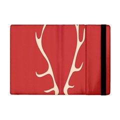 Deer Antlers Apple iPad Mini Flip Case