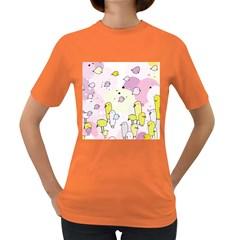 Cut Bird Women s Dark T-Shirt